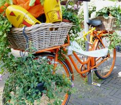 This is a really Dutch bike