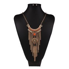 • Orange Bohemian Style Long Tassel Necklace • A great gift for yourself or loved one! Made of zinc alloy. Color may be slightly different from the actual item due to the lighting. Bundle and save! :)  • gives discount on bundles  • 30% off for return customers  • ships the next day  • feel free to make a reasonable offer Jewelry Necklaces