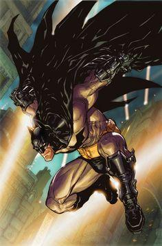 Carlos d'Anda : Batman Arkham City/Asylum Concept Art