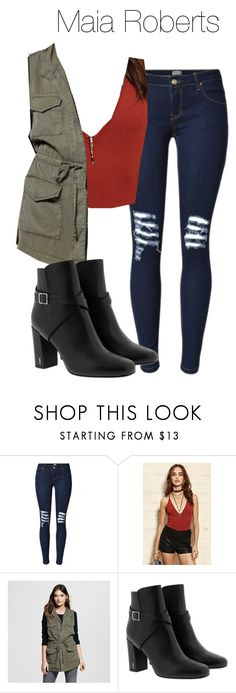 """Maia Roberts - Shadowhunters"" by shadyannon ❤ liked on Polyvore featuring Forever 21, Mossimo and Yves Saint Laurent"