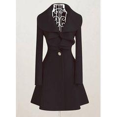 Elegant Gothic Lolita Womens Coat Black Pink 131119104 Mocc