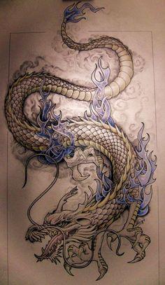 """Значение татуировки """"Дракон"""" или что означает тату """"Дракон""""?"""