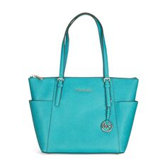 New Micheal By Michael Kors Jet Set Leather Tote Handbag #MichaelKors #TotesShoppers