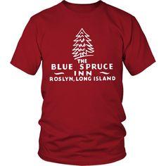 Blue Spruce Inn Roslyn Long Island New York Vintage Matchbook T-shirt