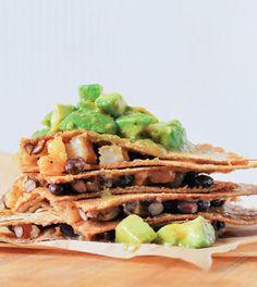 Chipotle Shrimp Quesadillas