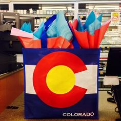 Wow! Got a call from our local grocery store (King Soopers) and guess what? They had a gift bag drawing celebrating Colorado's birthday and Taa is the big winner! A ton of cool #Colorado based #food and #beverage products are included in this awesome #reusable bag! Over $150 worth of free stuff :) #coffee #tea #bbqsauce #popcorn #whoopiepies #crackers #caramel #bread