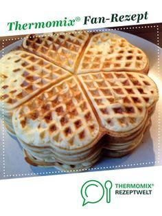 Waffeln von HerSchi80. Ein Thermomix ® Rezept aus der Kategorie Backen süß auf www.rezeptwelt.de, der Thermomix ® Community.