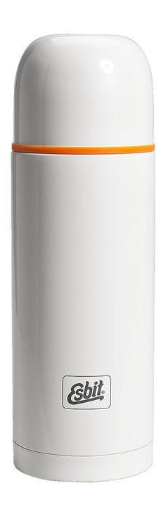 """#Thermoflasche """"Isolierflasche Polar"""" Esbit. Die Flasche hält eure Heißgetränke im Winter warm. Gibt es bei globetrotter.de"""