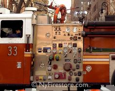 "FDNY Engine 33 ""Bowery U""        Photo by nyfirestore.com"