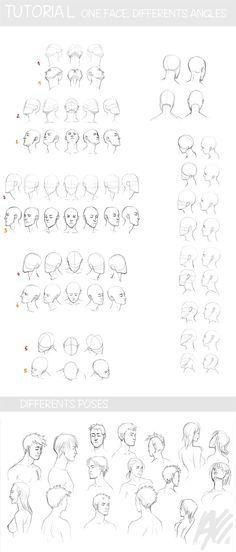 Desenho - Cabeças
