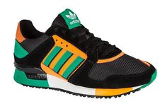 960eafe3f74f3b hombres Adidas ZX 630 D67740 Corriendo Zapatos Athletic Sneakers Originals  Trainers Negro naranja Verde