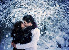 Winter kiss..