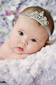 Hey, I found this really awesome Etsy listing at https://www.etsy.com/listing/183881370/baby-tiara-headbandbaby-girl-tiarababy