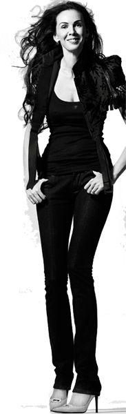 "L'Wren Scott (American fashion designer) is 6'3"""