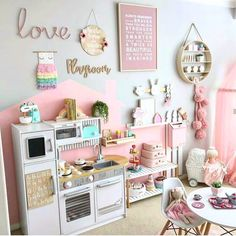 49 Splendid Diy Playroom Kids Decorating Ideas is part of Toddler playroom Having a kids playroom has many benefits To begin with, you& have a charming and pleasant environment where your little - Playroom Design, Playroom Decor, Playroom Color Scheme, Girls Room Design, Kids Decor, Wall Decor, Toddler Playroom, Kids Playroom Ideas Toddlers, Toddler Rooms