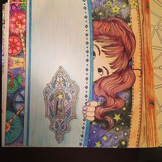 Instagram media jennie0010 - My first #adultcoloringbook #thetimechamber