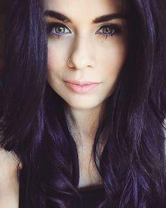 Pravana blue and violet hair color.