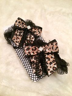 #Cheetah #Leopard #Crystal #ThighHigh #FishnetStockings. #Burlesque #Cabaret #Costume #EmpireMiniTopHats #Stockings
