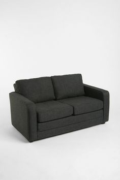 Deco Convertible Sofa #UrbanOutfitters - almost like the poor, worn-out Ikea one I have and love