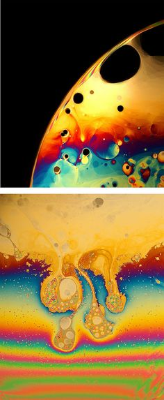 Macro Soap Film Photography by Jane Thomas | Inspiration Grid | Design Inspiration