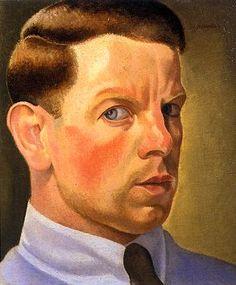William Roberts (British, 1895-1980)  Self-portrait, 1923
