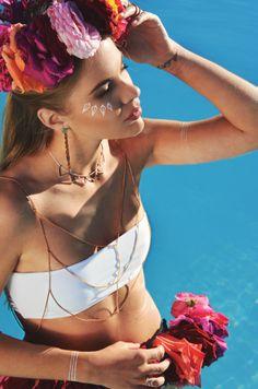 Maggoosh Jewelry - Meherio Tropicana Lookbook SS14 - #editorial #photoshoot #jewelry