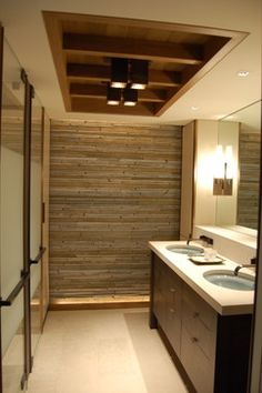 Public bathrooms on pinterest public toilet design and for Stacked stone bathroom ideas