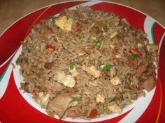 Arroz chino tipo cantones Side Dish Recipes, Asian Recipes, New Recipes, Cooking Recipes, Ethnic Recipes, Delicious Recipes, Low Carb Diets, Couscous, Quinoa