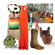 Summer Farmer's Market, created by andreahaywood on Polyvore