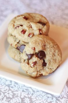 Sarah Bakes Gluten Free Treats: gluten free vegan chocolate chip cookies