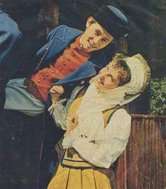 Folk costumes from Warmia region, Poland, 1968.
