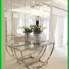 This is a beautiful place to come for modern home decor ideas. Modern console table is at . - DIY Home Decor Ideas Inspire Me Home Decor, Diy Home Decor, Living Room Designs, Living Room Decor, Living Rooms, Modern Console Tables, Console Table With Mirror, Entryway Decor, Entrance Hall Decor