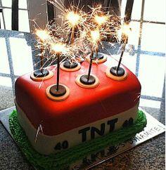 TNT/Dynamite Cake