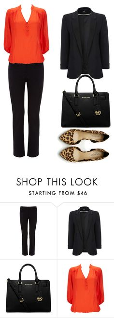 """Winter Capsule Outfit #11"" by jensmith1228 ❤ liked on Polyvore featuring Monsoon, Wallis, MICHAEL Michael Kors and Shoe Cult"