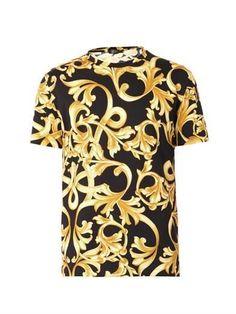 Versace Gianni, Barocco Print T-Shirt, Original, Half Price