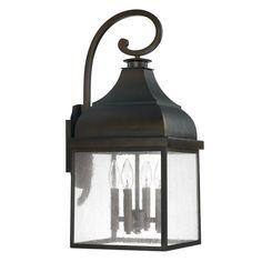 4 Light Outdoor Wall Lantern : TWMD | Lighting Concepts