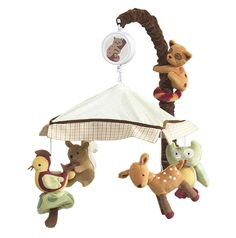 Enchanted Forest Musical Mobile