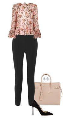 """""""Trumpet."""" by foreverforbiddenromancefashion ❤ liked on Polyvore featuring Yves Saint Laurent, Jason Wu, Topshop and Jimmy Choo"""
