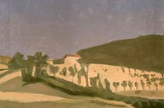 Giorgio Morandi, Paesaggio, 1943, Olio su tela