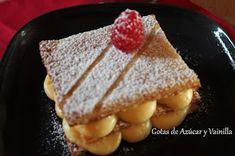 Gotas de Azúcar y Vainilla: Milhojas de crema pastelera (Paco Torreblanca)