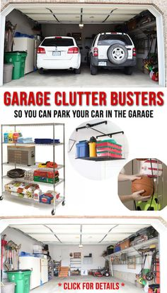 Do you really wish you could park a car in your garage, maybe even two cars? Do you have boxes and piles of stuff covering the floor? Well, then it's time to organize your garage. The trick to getting...
