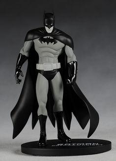 DC Direct Batman Black and White Gotham Knight Statue