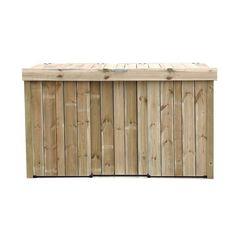 Steigerhouten container ombouw | Budget-Living