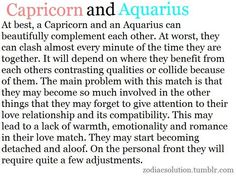 Capricorn Male And Aquarius Female Compatibility