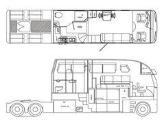 Big Rig Trucks, Cool Trucks, Semi Trucks, Customised Trucks, Custom Trucks, Super C Rv, Motorhome Conversions, Model Truck Kits, Benne