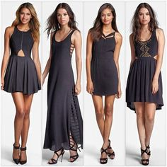 ❤SHOP❤ #lineanddot #black #dress #blackdress #collection @Nordstrom #fashion #style #summer13