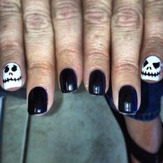 Halloween nails by BritneyVu