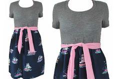 Farb- und Stilberatung mit www.farben-reich.com - ABSURD Kleid ♥SAILOR SALLY♥ Vintage Punkte von Lovely-Gifts auf DaWanda.com