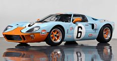Gulf GT40 - Best looking vehicle Ford ever made.