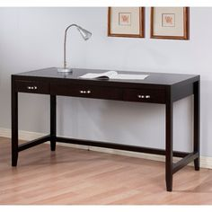 @Overstock.com - Axium Writing Desk - Stay organized with this writing desk. An espresso coloring with a lacquer finish and spacious drawers complete this desk.   http://www.overstock.com/Home-Garden/Axium-Writing-Desk/6774850/product.html?CID=214117 $349.99